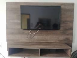 PAINEL COM NICHO AMADEIRADO (TV NÃO INCLUSA)