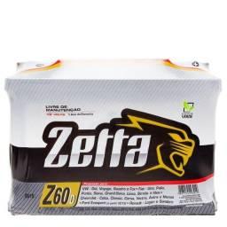 Título do anúncio: bateria zetta 60a ( á base de troca por outro casco de 60a qualquer marca )