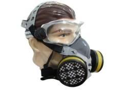 Mascara Respirador Facial Com 2 Filtro