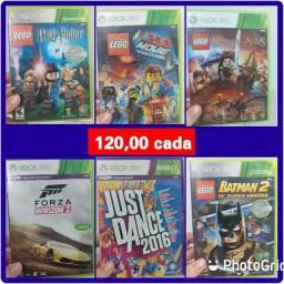 Valores na fotos * jogos de Xbox 360
