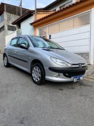 Peugeot 206- 1.4 8v Flex- COMPLETO- 50.000KM UNICO DONO