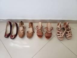Sandálias anabela,