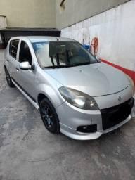Renault / Sandero Expression 1.0 16 V 2014 Prata