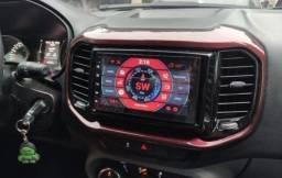 Central multimídia Fiat Toro, espelhamento S300 Android