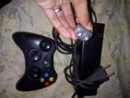 Título do anúncio: Controle+Fonte Xbox360