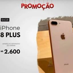 IPHONE 8 PLUS NOVO PARCELADO NO BOLETO