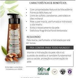 Eudora Loção hidratante corporal perfumada 400ml Castanha