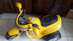 Título do anúncio: Moto Elétrica Amarela Reforçada