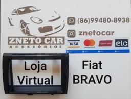 Moldura 2 din multimídia Fiat Bravo todos