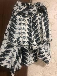 Conjunto short e kimono