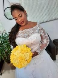Combo vestido de noiva com mais 3 roupas de cortesia