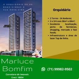 MB -  Parque Iguatemi, 2 Quartos, suíte, varanda - Orquidário