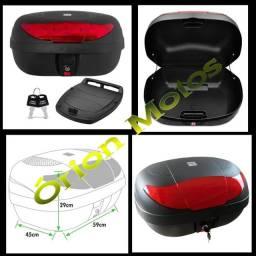 Etc Baú Moto 1 Capacete Smart Box 2 28 Litros + Base de Fixação