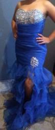 Vestido de festa azul royal, lindo!!!