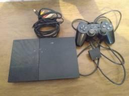 200$ Playstation 2 com defeito não aparece o Matrix