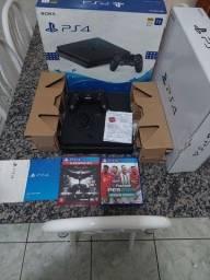 PS4 slim 1 tera último modelo com nota fiscal
