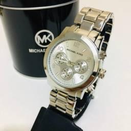 Relógio Michael Kors + Brinde + Frete Gratis Praia Grande