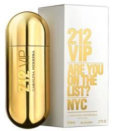 Perfume 212 Vip Edp 80 Ml Carolina Herrera - Original
