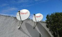 Antena e suporte técnico