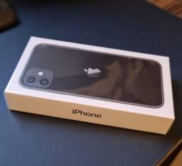IPHONE 11 128GB PRETO NOVO NA CAIXA LACRADO