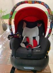 Bebê conforto + base para carro e adaptador para carrinho de bebe - MUITO NOVO