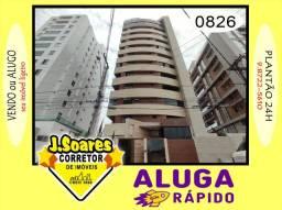 Título do anúncio: Cabo Branco, 4 quartos, 3 suítes, 164m², R$ 3000 C/Cond, Aluguel, Apartamento, João Pessoa