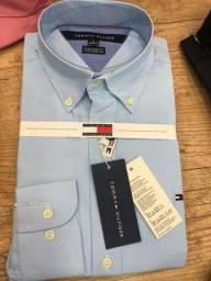 Camisa social masculina manga longa importada várias marcas.