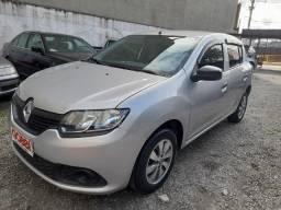 Renault / Sandero 1.0 12V Authentique 2018 Prata