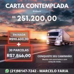 Título do anúncio: Consórcio para Caminhões 0km ou Usado - crédito liberado