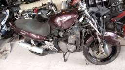 Sucata de moto para retirada de peças GSX 750f 1999