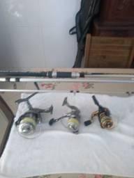 Conerto de murinete e varas de pescar