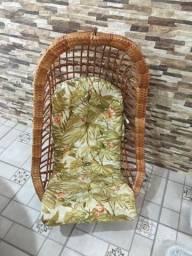 2 cadeiras de balanço suspensa