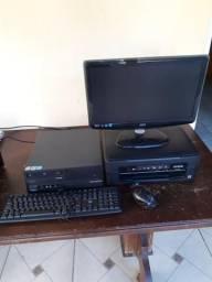 Monitor 20', cpu e impressora