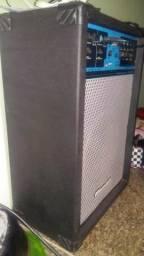 Vendo caixa amplificada onel de falante 15 993382564