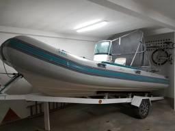 Flexboat SR500 ano 2007 motor Evinrudo Etec 900 - 2007