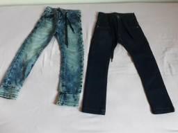 Calça de criança nr4 com ajustes na cintura