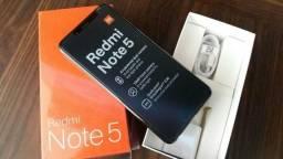 Celular Xiaomi Redmi Note 5 64gb 4gb de Ram - Camera dupla - Preto