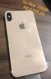 IPhone X max 256gb dourado
