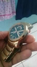 90b63bba75f Relógio Bvlgari Iron Man X Limited Dourado