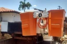 Carroceria para caminhão linha viva com cesto