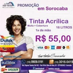 Ofertas -Tinta acrílica de 16 Litros por apenas R$55,00 + Ofertas Confira em nossa Loja