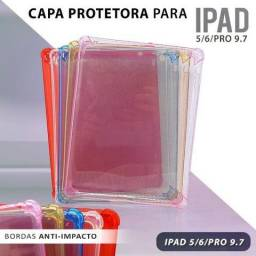 Capa Protetora Para Ipad 5/6/pro 9.7 Anti-impacto Silicone