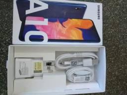 A10 Samsung Novo Com Nota Fiscal e 1 ano de garantia