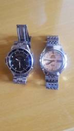 2 relógios technos/orient