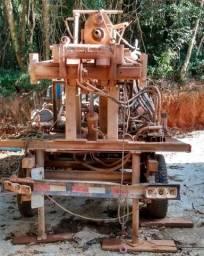 Máquina perfurar poço