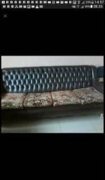 Sofá com poltronas antigo