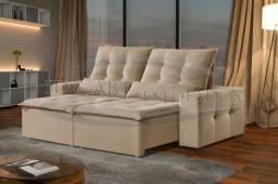 Sofá retrátil e reclinável direto da fabrica