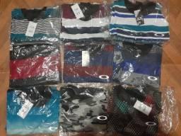Camisas original oakley nova entregue no pacote