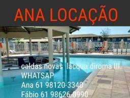 Alugamos Flats no Lacqua DiRoma lll !!!!!!