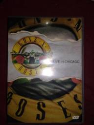 DVD Guns n Roses ao vivo em Chicago usado